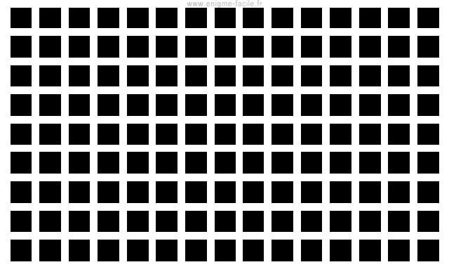 grille d'hermann illusion d'optique
