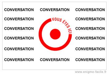 dingbat etre au centre de la conversation
