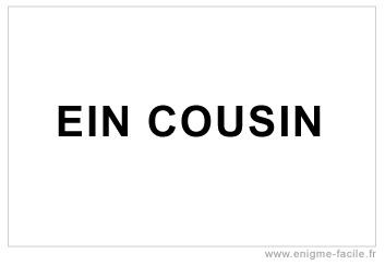 dingbat ein cousin