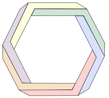 hexagone penrose
