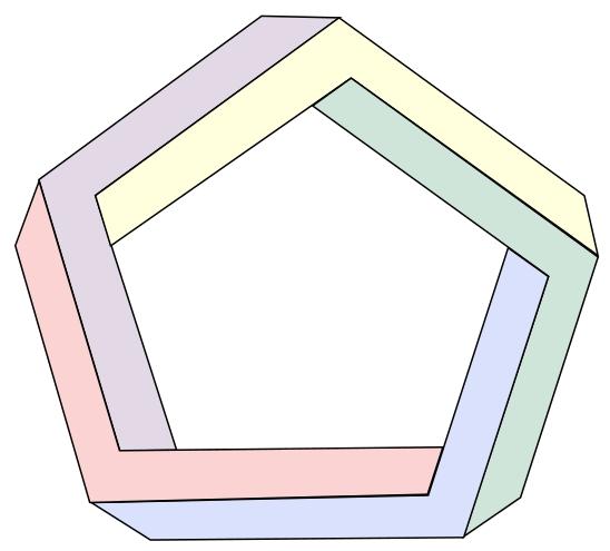 pentagone penrose