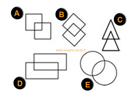 quel est l 39 intrus parmi ces formes g om triques enigme facile. Black Bedroom Furniture Sets. Home Design Ideas