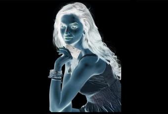 illusion femme couleur
