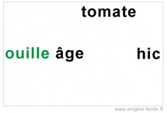 dingbat ouille age tomate hic