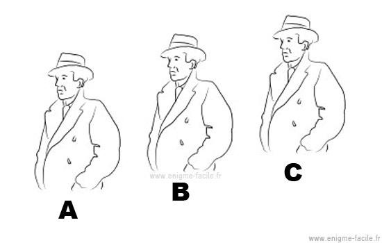 Enigme Image chapeau noir ou chapeau blanc ? - enigme facile