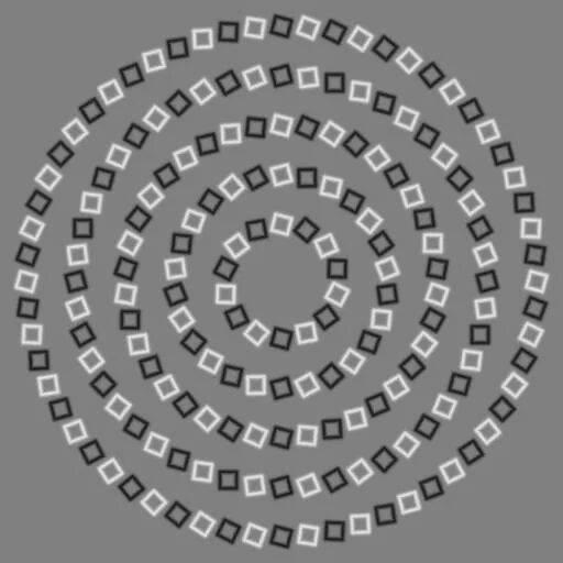 illusion spirales