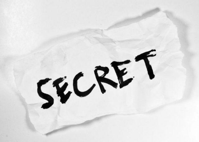 énigme, secret