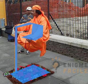 Solution levitation rue magie