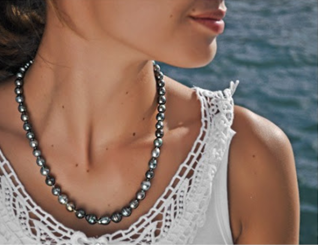 Contrepeterie collier chic