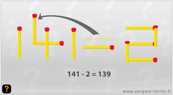 139 un point c 39 est tout enigme facile. Black Bedroom Furniture Sets. Home Design Ideas