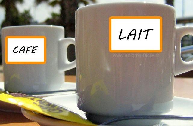 Et Facile Café Lait Enigme Du JclFK13T