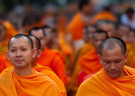 enigme des moines bouddhistes